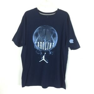 NIKE | Jordan Carolina Basketball T-shirt XL